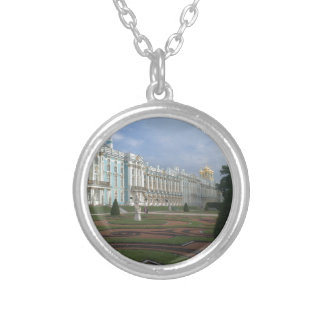 Winter Palace St. Petersburg, Russia Silver Plated Necklace