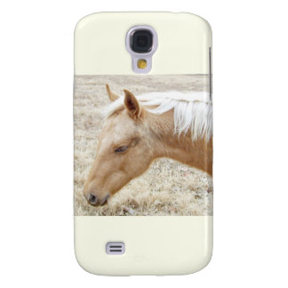 Winter Palomino Colt Galaxy S4 Cases