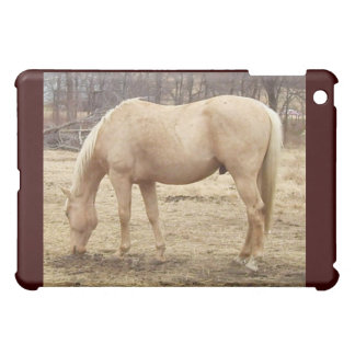 Winter Palomino Horse iPad Mini Case