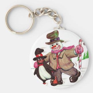 Winter Pals Keychain