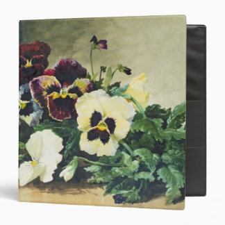 Winter Pansies, 1884 Binder