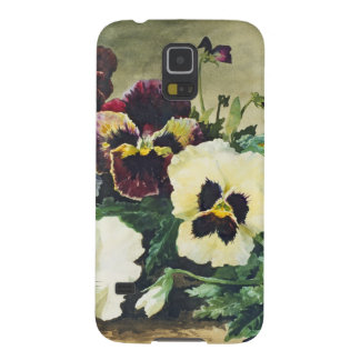 Winter Pansies, 1884 Galaxy S5 Cover