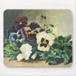 Winter Pansies, 1884 Mouse Pads