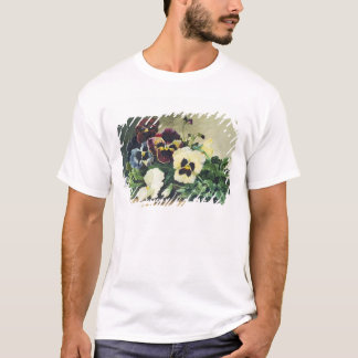 Winter Pansies, 1884 T-Shirt