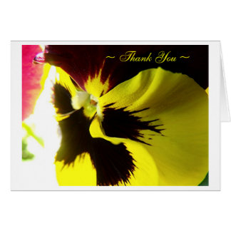 """Winter Pansy"" Card"