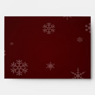 Winter Parchment Illustration - Envelope A7