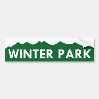 Winter Park Colorado Bumper Sticker