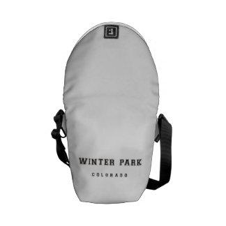 Winter Park Colorado Messenger Bags
