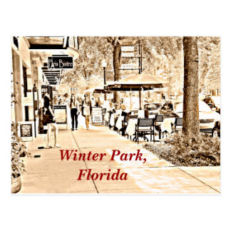 Winter Park Florida - Postcard