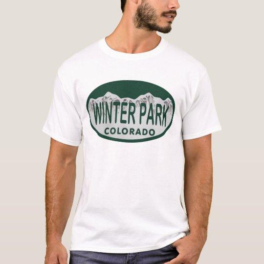 Winter Park license oval T-Shirt