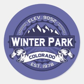 Winter Park Midnight Classic Round Sticker
