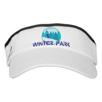 Winter Park Teal Ski Circle Visor