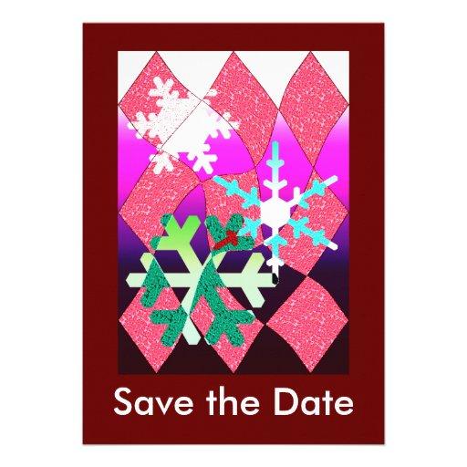 Winter Party Custom Invitation