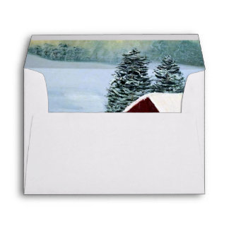 Winter Peace Envelope