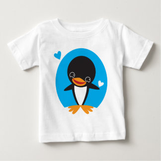 Winter Penguin Baby T-Shirt
