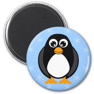 Winter Penguin Magent Fridge Magnet