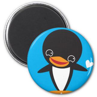 Winter Penguin Magnet