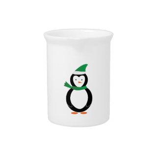 Winter Penguin Drink Pitchers