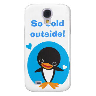 Winter Penguin Samsung Galaxy S4 Case