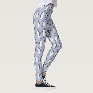 Winter Penguins seamless pattern + your ideas Leggings