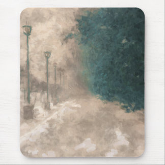 Winter Perspective Mouse Pad