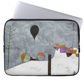 Winter Picture by Paul Klee Laptop Computer Sleeves