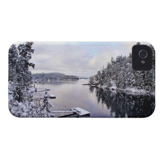 Winter Picture of Snow Case-Mate Blackberry Case