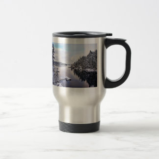 Winter Picture of Snow Mugs