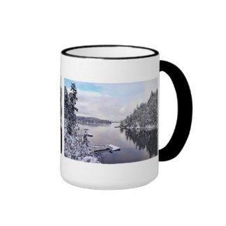 Winter Picture of Snow Ringer Mug