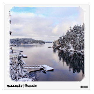 Winter Picture of Snow Wall Graphics
