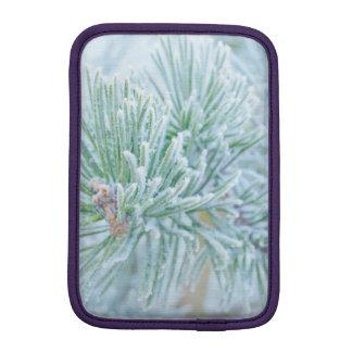 Winter Pine Sleeve For iPad Mini