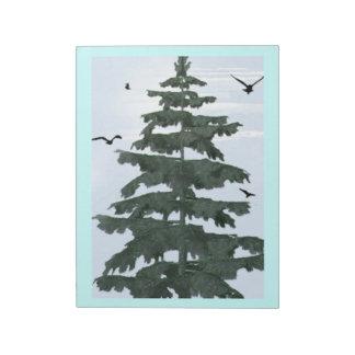 Winter Pine Tree Christmas Scrapbook Pad