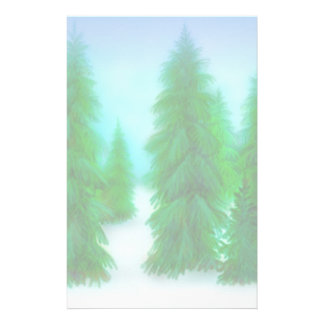 Winter Pines Stationery