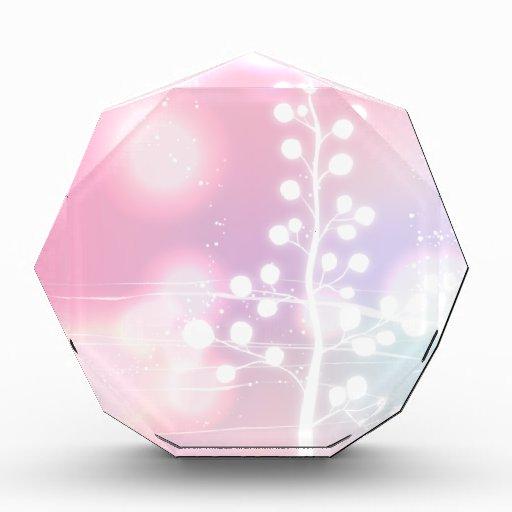Winter, Pink, Christmas Award