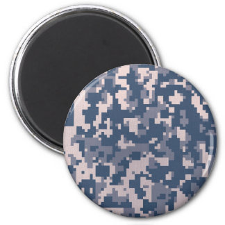 Winter Pixelated Camoflage Magnet