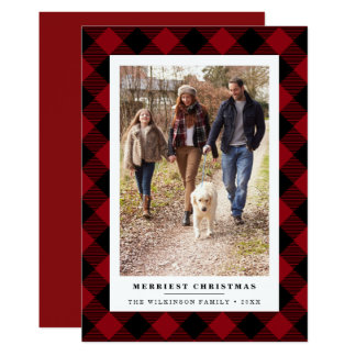 Winter Plaid | Holiday Photo Card