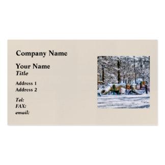 Winter Playground Business Card