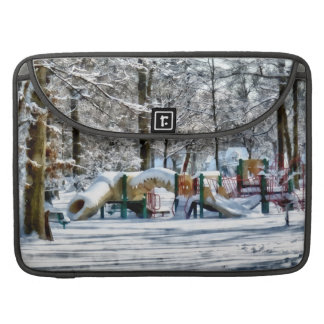 Winter Playground MacBook Pro Sleeve
