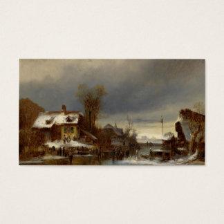 Winter Pleasures - Wintervergnugen Business Card