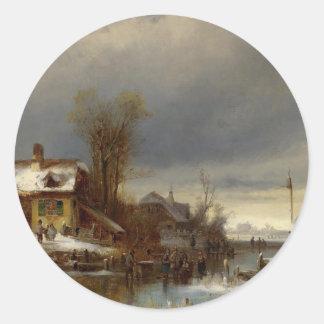 Winter Pleasures - Wintervergnügen Sticker