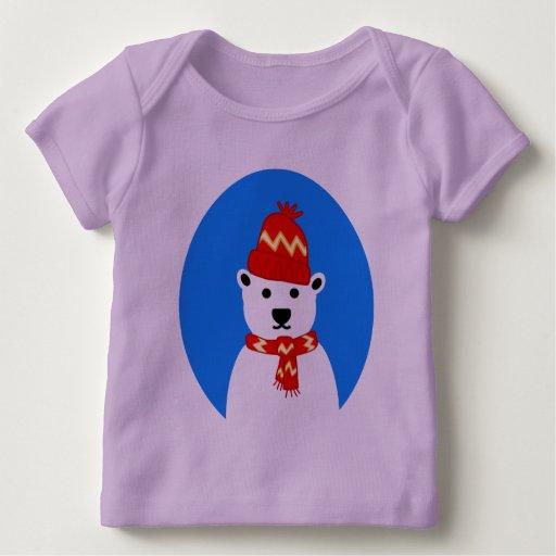 Winter Polar Bear Baby Clothes T shirt