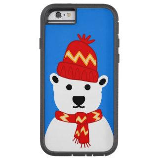 Winter Polar Bear - iPhone 6 Case