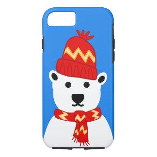 Winter Polar Bear - iPhone 7 Case