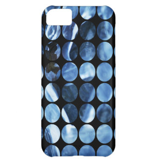 Winter Polka Dots Blue Ice iPhone 5C Covers