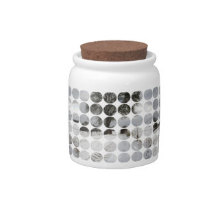 Winter Polka Dots Country Road + Snow Candy Jars