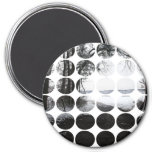 Winter Polka Dots Forest Archway Refrigerator Magnets