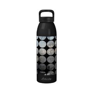 Winter Polka Dots Forest Crossroads Water Bottle