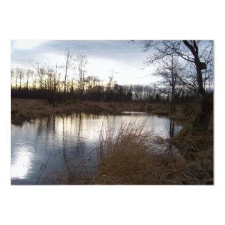 Winter Pond Card