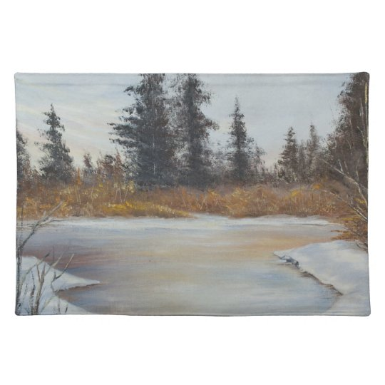 Winter Pond Placemat