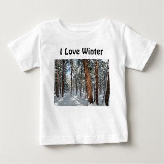 Winter Ponderosa Baby T-Shirt